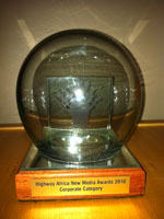 Telkom Highway Africa New Media Awards 2010 winners