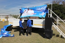 Zinto's new customised mobi stage steals the show
