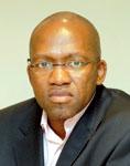 Vuyo Mvoko, The New Age editor-in-chief.