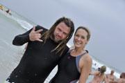 Ard Matthews and Vanessa Haywood