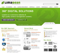 Lima Bean announces revamped website
