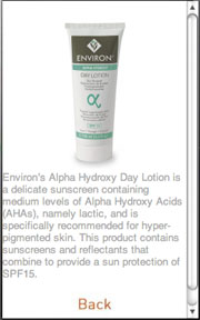 Red Cherry Media develops a .Mobi site for Environ cosmetics