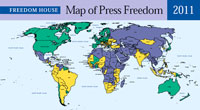 Press freedom celebrations tempered with concerns