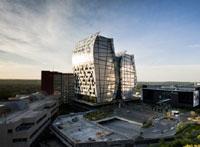 15 Alice Lane Towers in Sandton Central - Overall winner of the SAPOA Innovative Excellence in Property Development Awards 2011