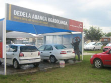 Township branding comes clean - the car wash provides a new communication medium