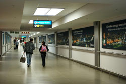 Airport zone exclusivity impacts high flyers