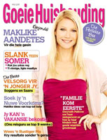 A mock-up of the Afrikaans version-to-be of Good Housekeeping.