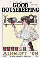 Good Housekeeping cover from 1908.