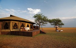 Singita Grumeti Reserve: Sabora tented camp - comfort under canvas.