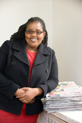 Newly appointed Isolezwe Weekend editor is on the ball!