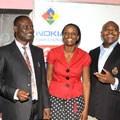 L-R: Osagie Ogunbor (Nokia West Africa), Kamarudeen Abatan (Lagos State Universal Basic Education Board), Atinuke Adelekun (BridgeIT project), Emeka Oparah (Airtel Nigeria) and Erik Gregory (Pearson Foundation)