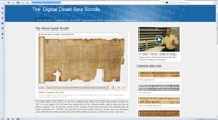 Dead Sea Scrolls digital project launches