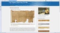 Dead Sea Scrolls digital project launches