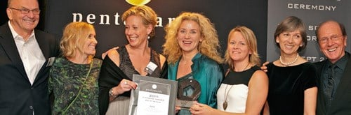 Sweden's Nine agency with the Diamond Diamond Award.