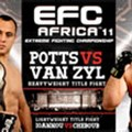 Twelve fights confirmed for EFC Africa 11