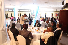 Delegates at the official launch event of HDI Kenya