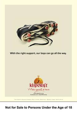 Klipdrift runs tongue-in-cheek rugby campaign