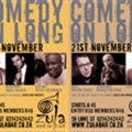 November comedy at the Zula Bar, Cape Town
