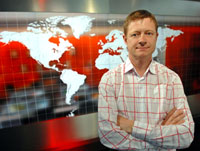 Richard Porter, head of BBC global news