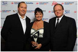 Carol Weaving named Sport Industry Entrepreneur of the Year