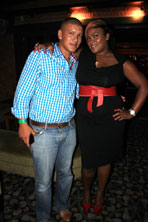 From Left - Zahier Miller and Irma G