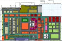 Design Indaba Expo 2012 floor plan.