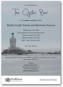 Workshop: Media credit trends and business rescue