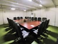 Sound dampening meeting rooms