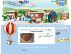 34Woman launches Huggies Momville!