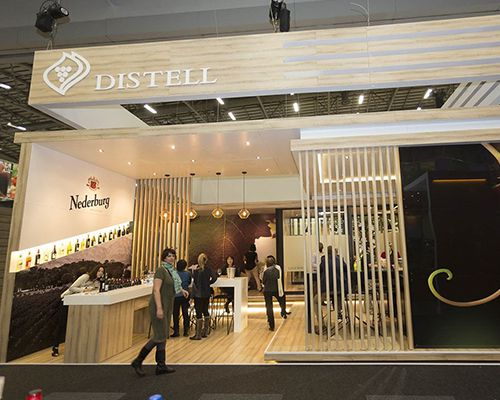 Distell exhibits at London Wine 2011