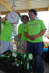 Recycling project in Hout Bay