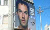 Bronx Shoes SA unveils interactive beard growing billboard