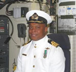 Handsome Thamsanqa Matsane is the South African Navy's newest commanding officer.