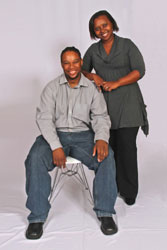 SA's only 'married on-air duo' returns home