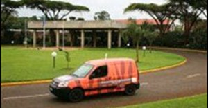 African adventure for electric car