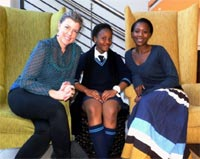 PR and Communications agency, Kaelo Engage, invited Hlengiwe Sithole, a Grade 8 learner from Mncube High School in Soweto, for an educational day of learning and mentorship.