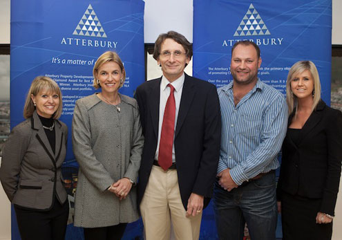 Atterbury hosts contemporary broker function from the spectacular 25th floor of Atterbury House - ECHO Events and Conferences