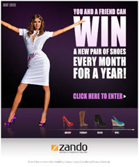 Digital Fire generates a 78% open rate for Zando and 10000 new sign-ups in 24 hours