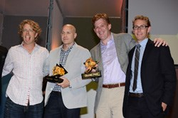 The Promo & Activation Grand Prix winners.