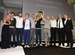 The Direct Agency of the Year winners.