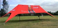 Giant branded marquee from Expand a Sign