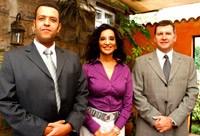 L to R: Jerry Nyagah, Gina Din-Kariuki and Graham Leigh
