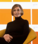 Leatrice Eiseman, American colour expert and keynote speaker at the Design Dialogue conferences