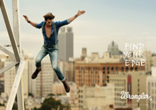 """Wrangler launches in SA with the """"Find Your Edge"""" campaign"""