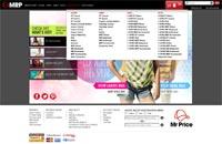 MRP website navigation