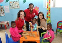 Early childhood development gets support from designer