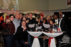 Jacques du Preez and his team at the MOST Awards