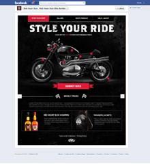 Rewarding social media engagement for Red Heart Rum
