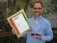 Sean Woods wins Siemens Profile Award for second time