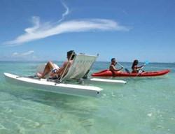"""Off to Australia?"" ""Naah, Madagascar."" (Image: Ambre Hotel)"